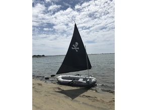 Inflatable Pirate Sailboat