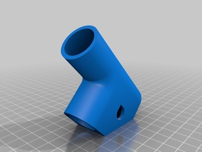 T-Piece for Ø22mm PVC pipe - pipe weld when using ABS