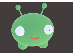 Mooncake (FINAL SPACE) No Supports needed