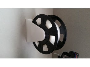 Simple Wall Mounted Spool Holder