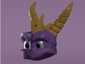 Spyro Head (Reignited Trilogy)