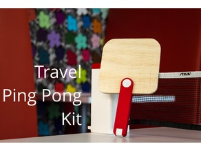 Portable Ping Pong Kit