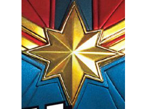 Captain Marvel MCU chest logo