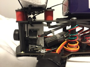 Blackout Mini H 600 TVL FPV Camera Mount