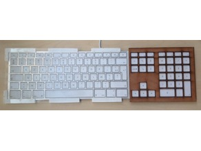 Guide doigts Mac - Mac Keyboard keyguard