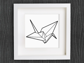 Customizable Origami Crane