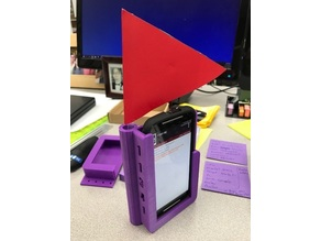 FTC Moto G Phone Holder for FIRST Robotic competitions fits Tetrix or Rev Holes