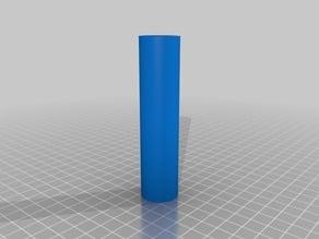 Prusa i3 Hephestos filament spool axle extended 100mm