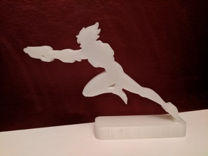 Overwatch League Tracer Logo Stand