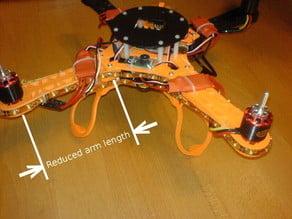 """Quadcopter """"Crossfire Mini"""" for Small Printers (15x15)"""