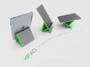 Apad | Variable Angle Ipad Dock