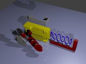 Wind-Up Engine V1.2 Updated - Fully Printed