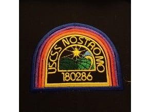 USCSS Nostromo Logo Alien Embroidery