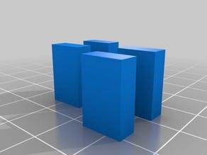 OpenDive retrofit rubber band holders