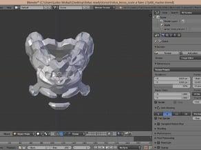 Halo 4 Fotus torso armor for 3D printer