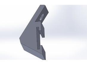 Mount for 12mm led strip.