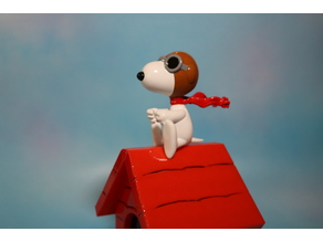 Pilot Snoopy - Red Baron Figure