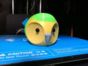 Kakapo head