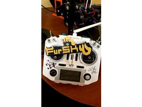 FrSky Taranis Fursky Badge for furry trash who fly drones