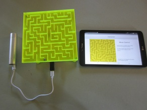 maze controlled by Android Bluetooth