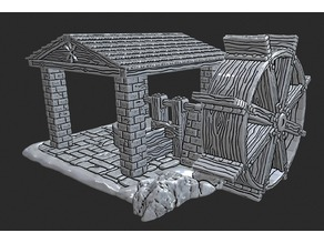 OpenForge - Open-air Water Wheel Mill