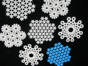 p6 and p6m Snowflakes