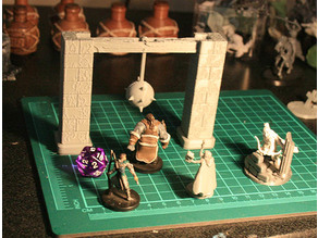 Swinging Traps for Dungeons and Dragons, Pathfinder, Warhammer or Tabletop fantasy games.