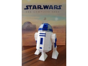 Low Poly R2D2 Three Color Remix 2