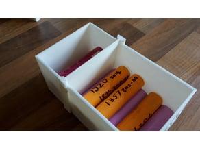 18650 Battery Storage Box Divider