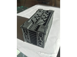 28mm sci-fi shipping container