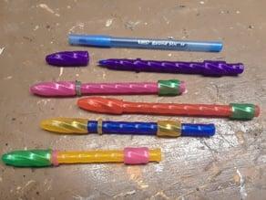 Remixed Fidget Twister pen