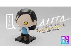Alita Battle Angel (Doll body)