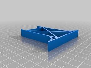 My Customized Wooden Railway Bridge Support 40.5 mm width