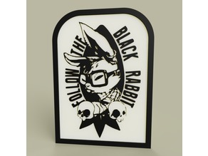 alice in wonderland - Folow the Black Rabbit