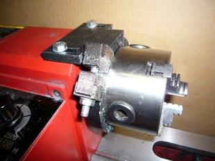 lathe spindle lock