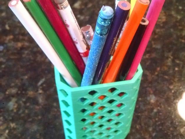 Locker Pencil Cup by jrochelle