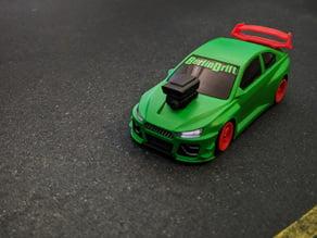 Type R inspirierter Spoiler für den Drift Racer