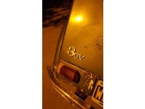 Citroën 3cv Logo Baul