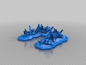 My Customized Parametric Miniature Game Barricade1