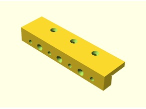 Dowel drilling guide/edge drilling guide