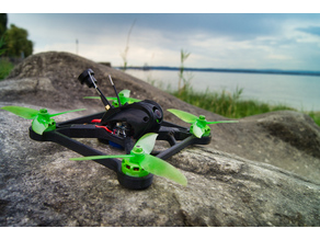 "XEVO X210 fully 3D printable 5"" Racing Drone/Miniquad"