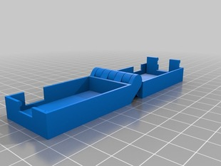 Hinged Box for Arduino Nano with Press Button