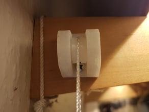 Ceiling/wall mount pulley system / Decken/Wand Umlenkrollen System