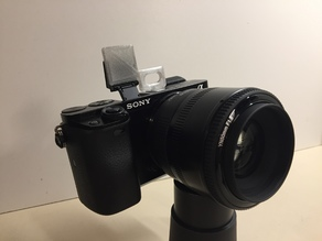 Sony alpha 6x00 - Bounceplate & diffuser