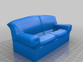 Business Card Display - Sofa