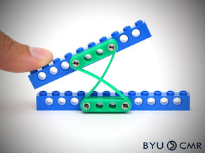FlexLinks: Cross-Axis Flexural Pivot (LEGO Compatible)