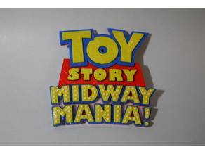Toy Story Midway Mania Logo