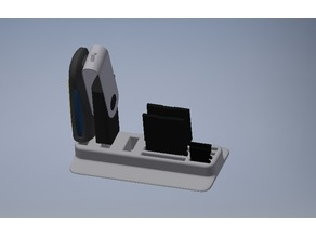 Desktop USB and SD Card Stand