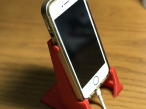 Phone Stand - 12 sizes! Clearance for charging and fits landscape, too!