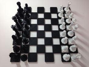 Extensible Chessboard